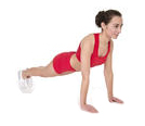 the push up exercise